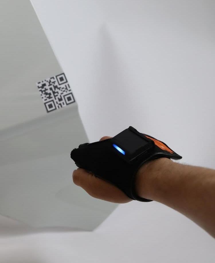 IWO scanning QR